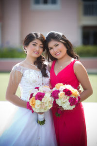 Pilipino-bride-colorful-flower-bouquet