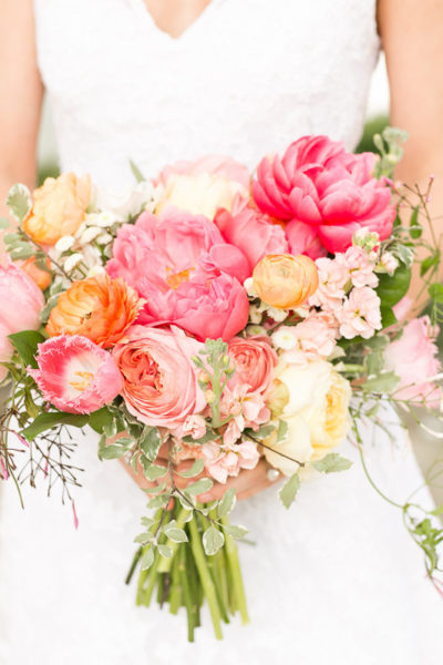 traditional southern wedding with spring flowers and summer charm bold vibrant outdoor tent wedding orlando